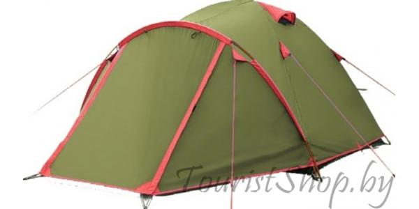 Четырёхместная палатка Tramp Lite Camp 4 в аренду