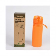 Бутылка силиконовая 0,5 л Tramp