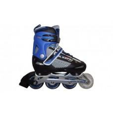 Роликовые коньки KEPAI SS-CHIN-F1-S4 30-33 синий/черный