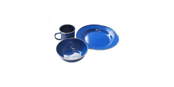 Набор эмалированой посуды на 1 чел. Tramp