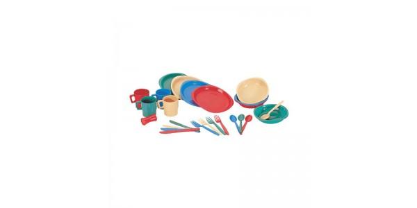 Набор пластиковой посуды на 4 чел. Tramp TRC-053
