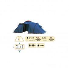 Туристическая палатка Sol Castle 4